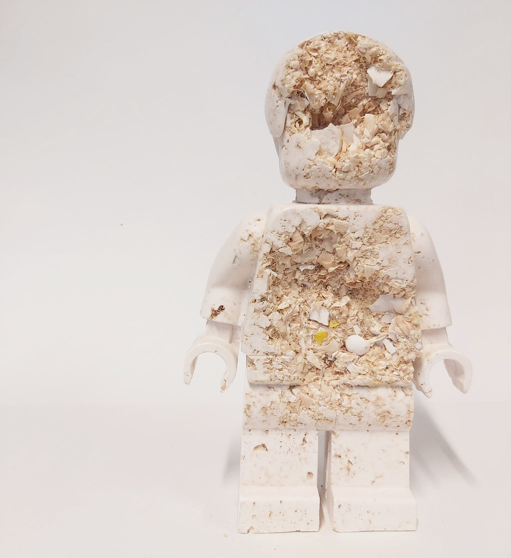 Natural Eroded  Lego Man #9