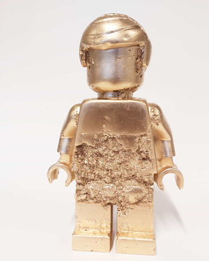 Eroded Gold Lego Man #6