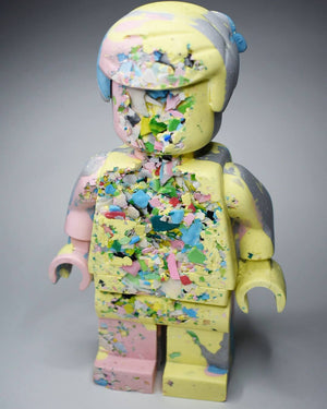 Eroded Lego Man #12