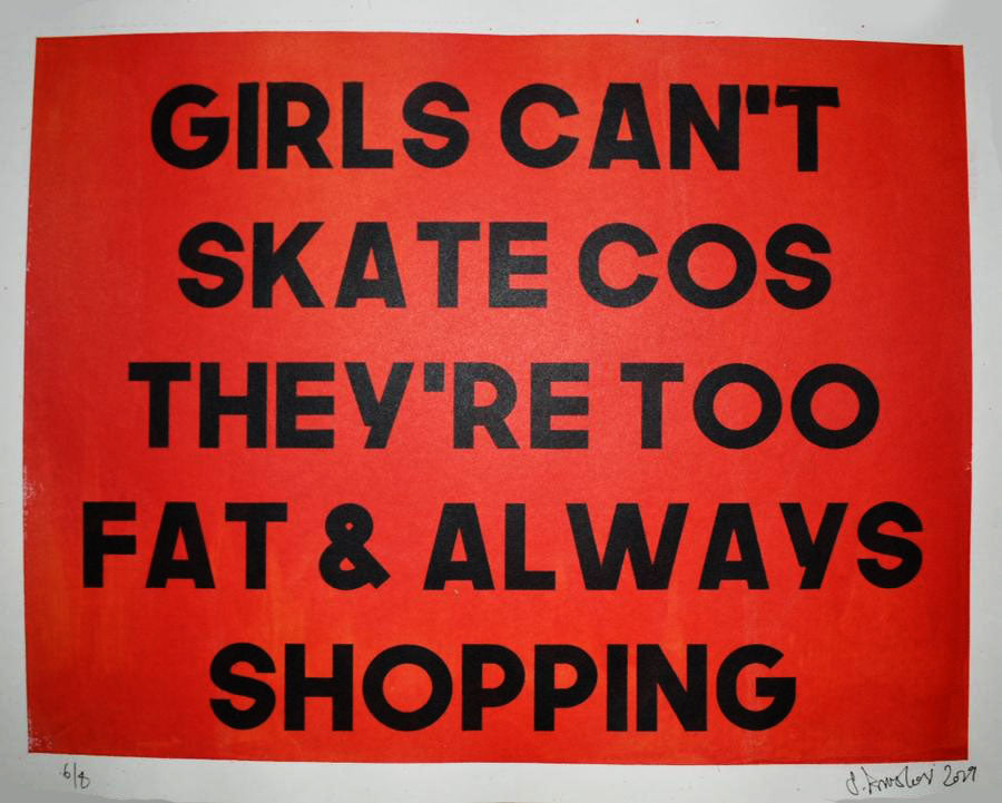 Girls Can't Skate x S.Prinsloo collab