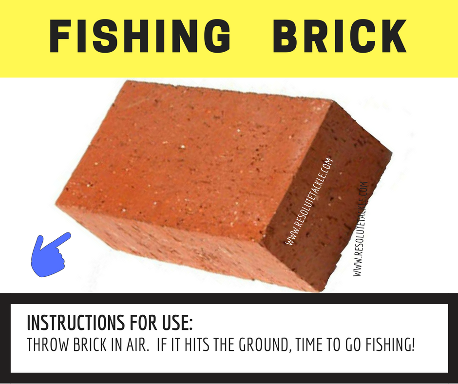 Fishing Brick - Guaranteed to catch more fish!