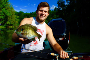 Catch Bluegills in the Summer with Ice Fishing Gear