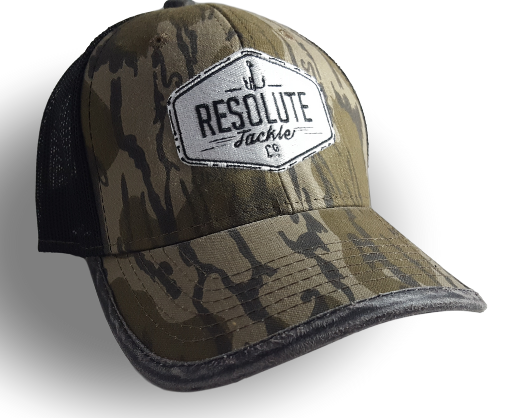 Mossy Oak Bottomland Logo Trucker Hat – Resolute Tackle 5e09f0f63a3