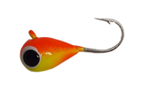 Orange Yellow UV Glow Tungsten Jig