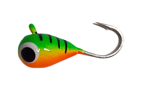 Firetiger Belly Stripe Tungsten UV Glow Jig