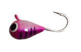 Purple Lady Stripe Tungsten UV Glow Jig