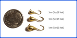 Gold Metallic Tungsten Jig