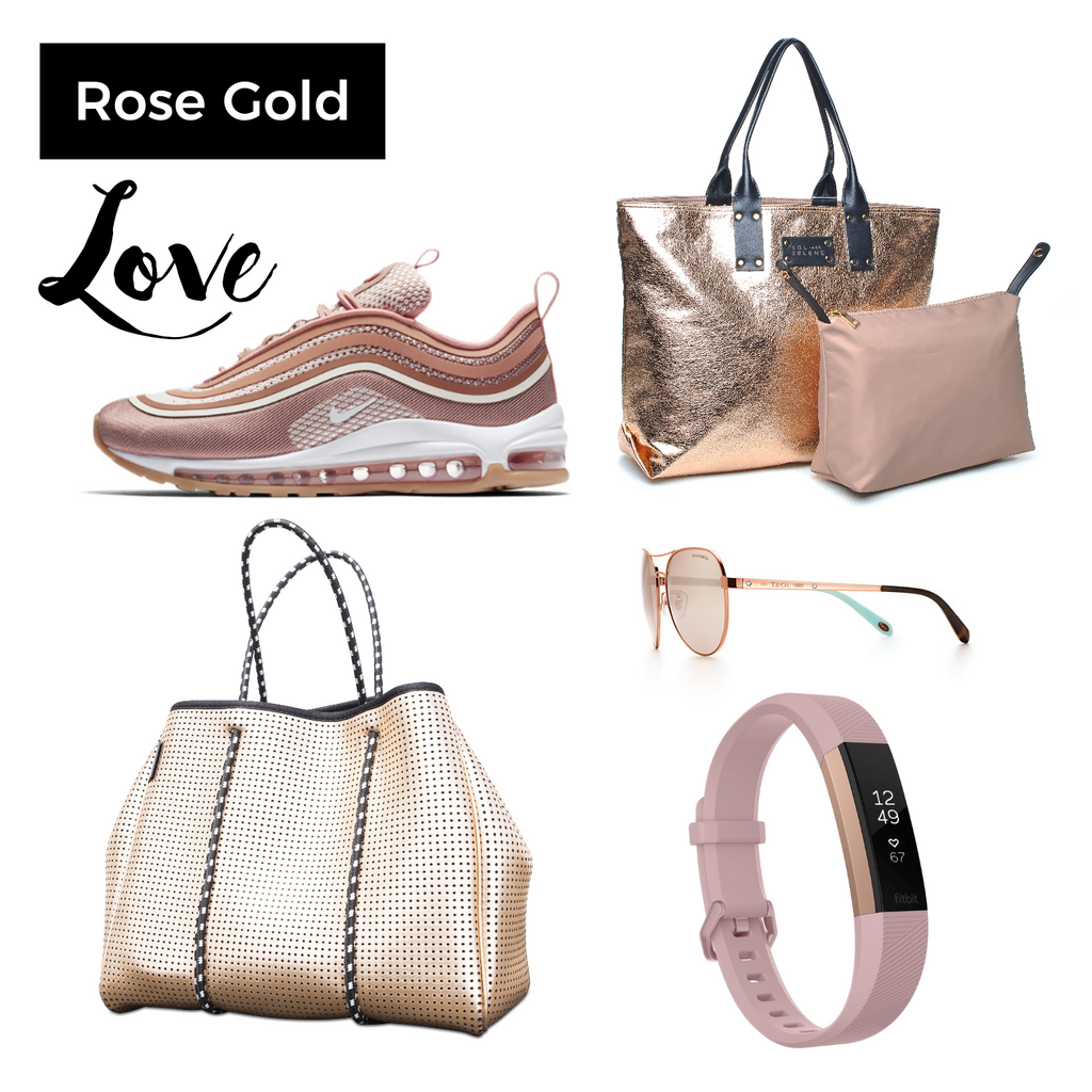 We're in love with rose gold