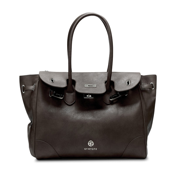 Gym Tote Eva Americano Brown Bag