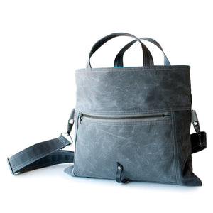 Moop Bags The Paperback Tote Grey
