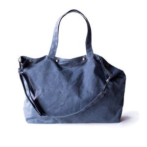 Moop Bags The Porter Tote Slate Blue