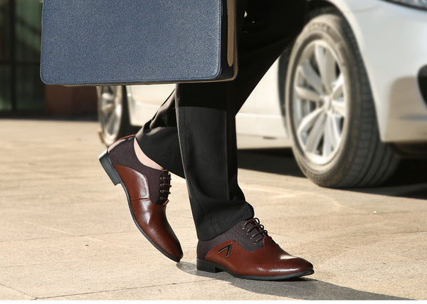 Men's  Formal Quality Leather Shoes FREE SHIPPING