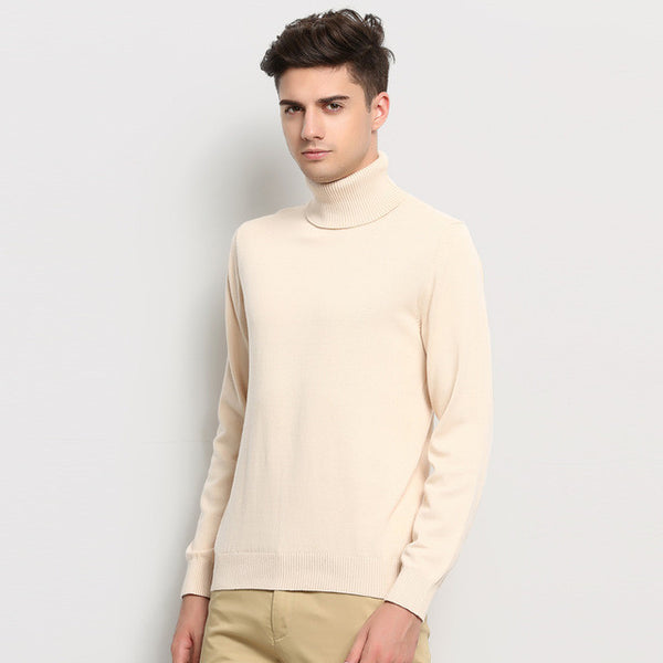 Slim Men's Knitted Sweater