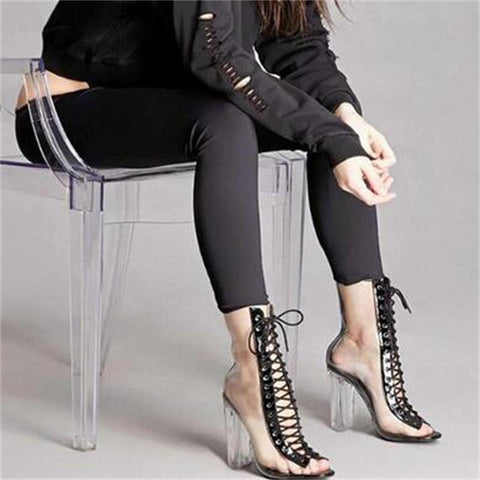 PVC Ankle Boots