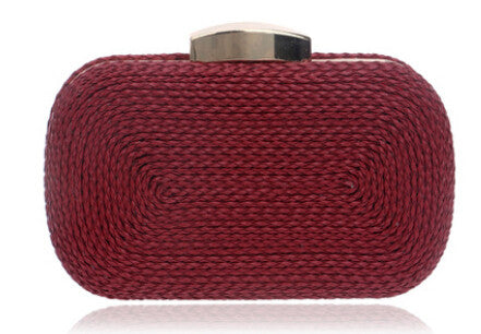 Woven Vintage Clutch With Chains FREE SHIPPING TO AUSTRALIA & NEW ZEALAND