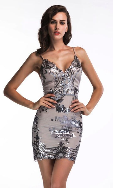 Damma  Mini Sequined Dress  FREE SHIPPING