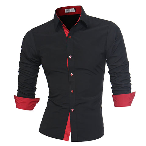 Koki Slim Fit Dress Shirts FREE SHIPPING