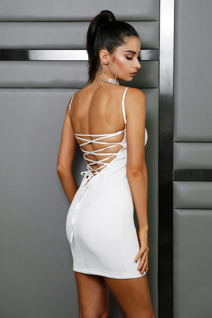 Elegant Denna Backless Dress FREE SHIPPING
