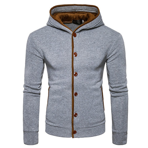 Felea Buttons Hoodie FREE SHIPPING