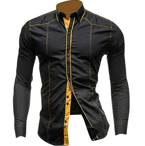 Rigel Casual Dress Shirts FREE SHIPPING