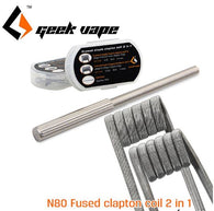 N80 Fused Clapton Coil 2 In 1