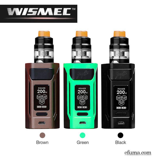 2ml Reuleaux RX2 20700 200W with Gnome TC Kit fra Wismec