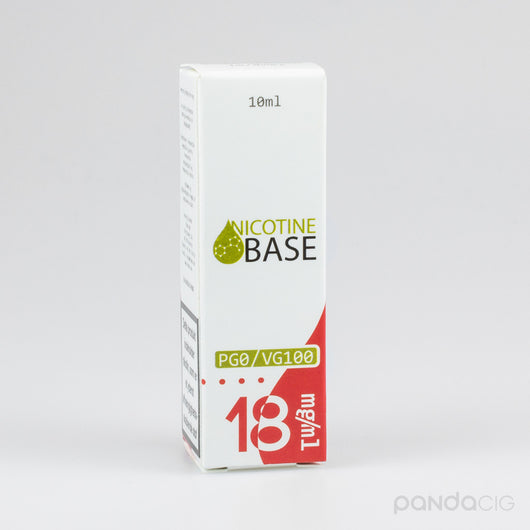Nicotine Base PG0/VG100, 18mg/ml