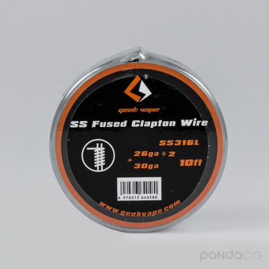 SS Fused Clapton Wire