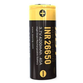 IJOY INR 26650 4200mAh High-drain Battery - 40A fra iJoy