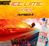 NOS E-Liquid - Ice Lime Peach Number 5