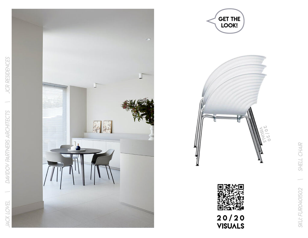 20/20 Visuals | Get The Look | Shell Chair