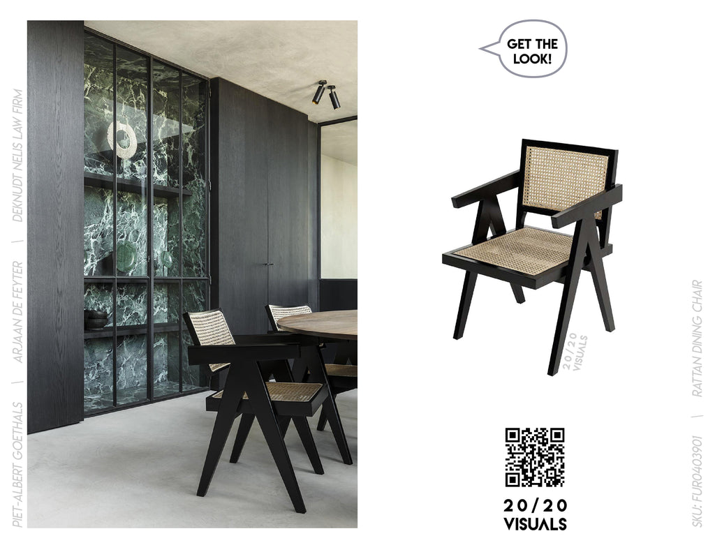 20/20 Visuals | Get The Look | Rattan Dining Chair