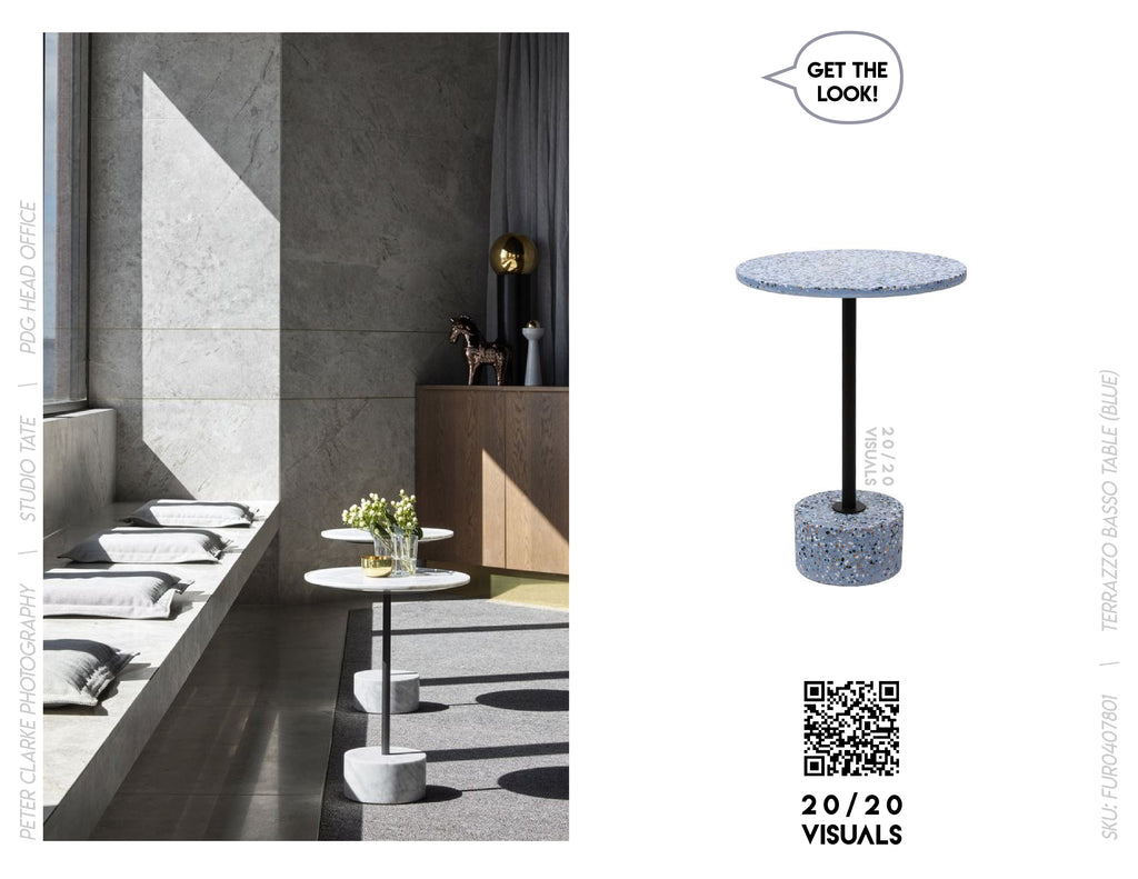 20/20 Visuals | Get The Look | Terrazzo Basso Table