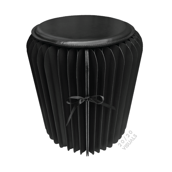 Pleated Paper Stool