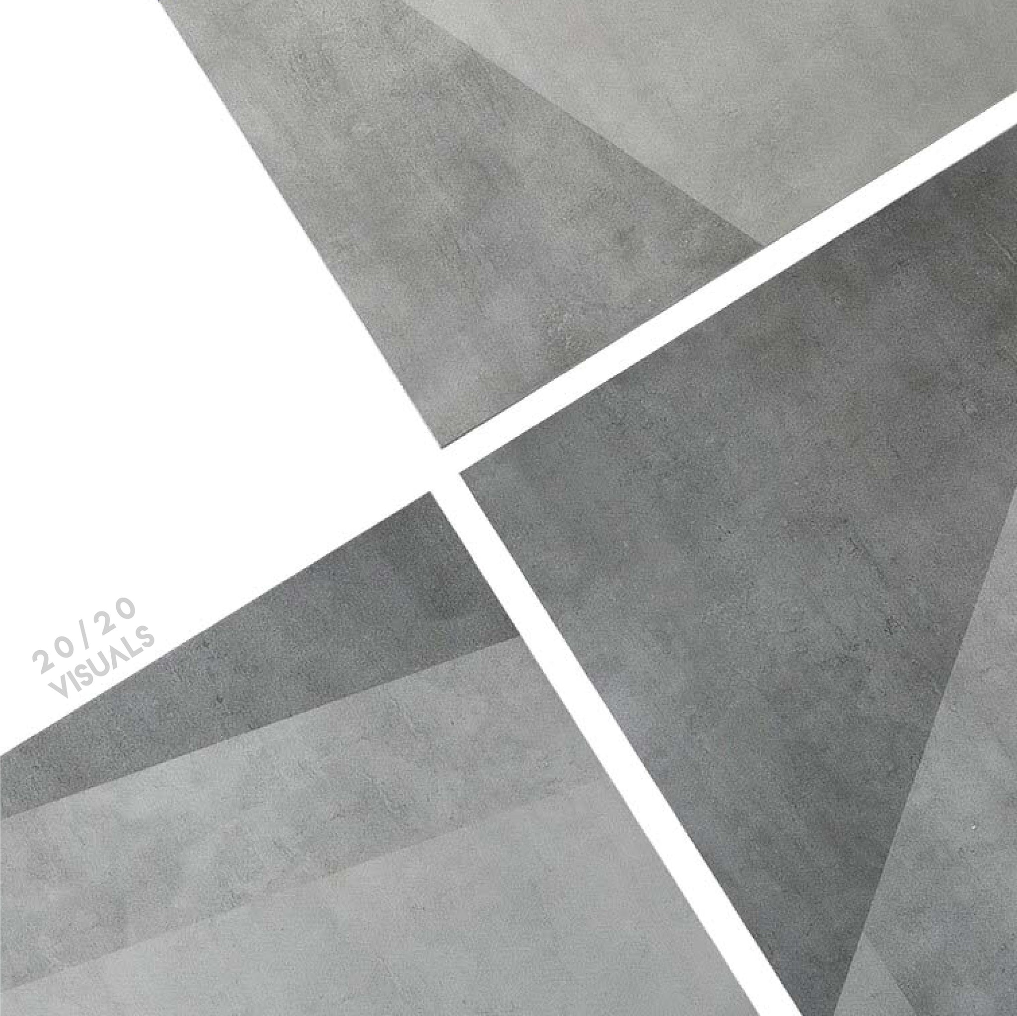 60X60 Abstract Grey Tile