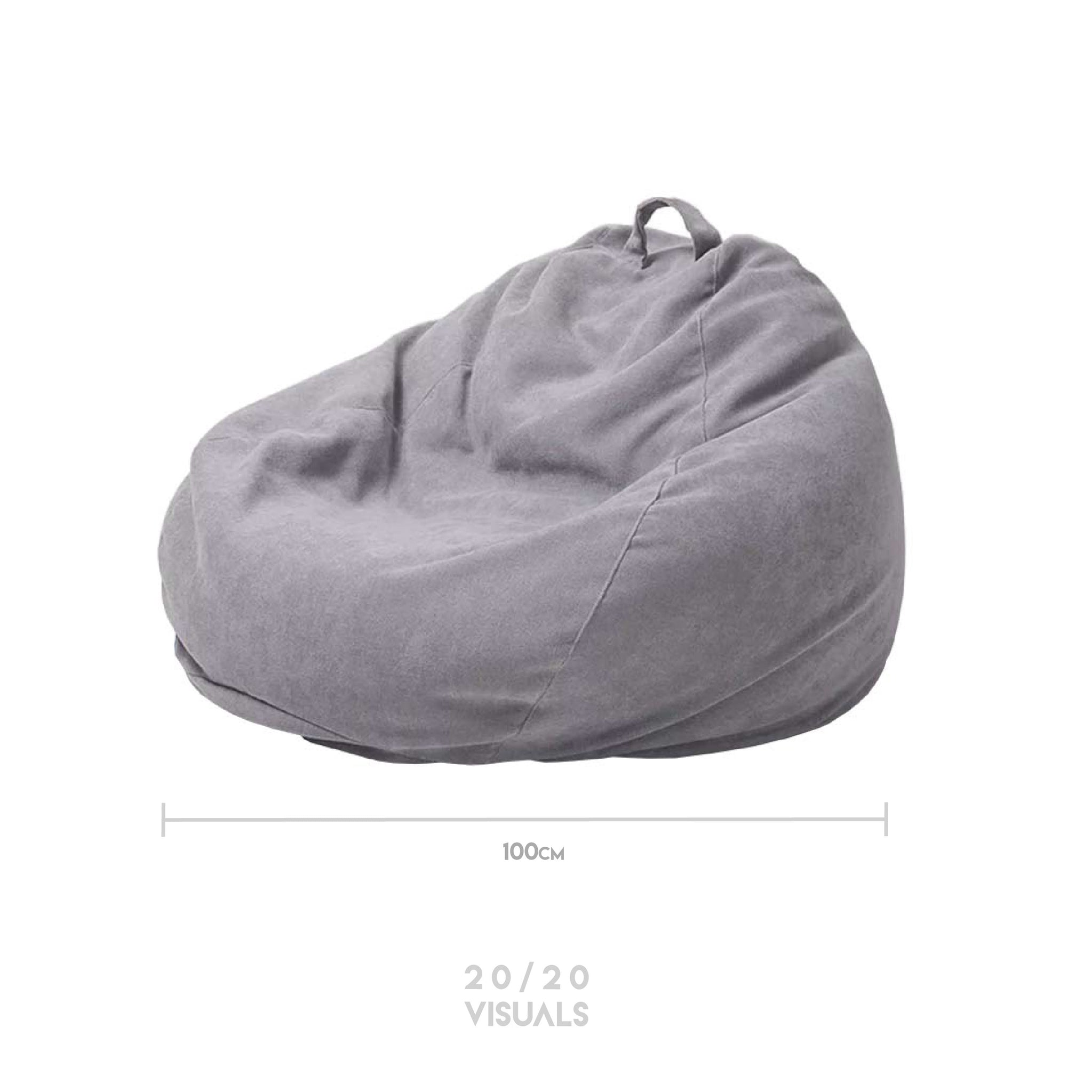 Canvas Bean Bag Lounger