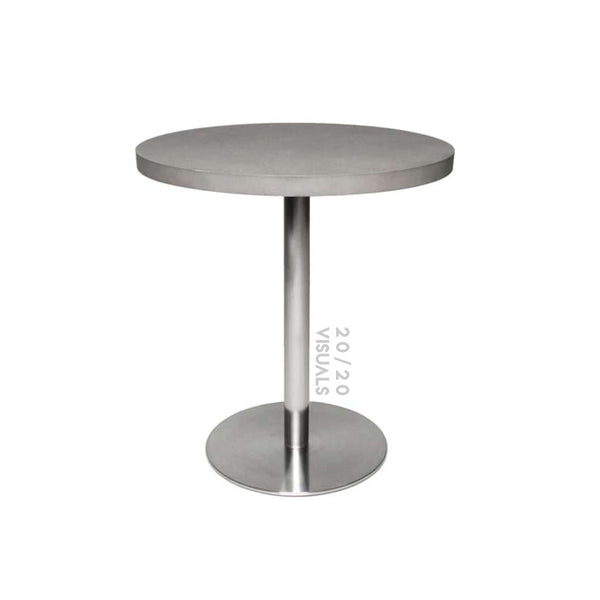 Cement-top Cafe Table