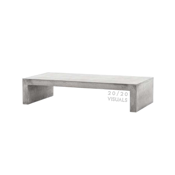 Cement Long Coffee Table