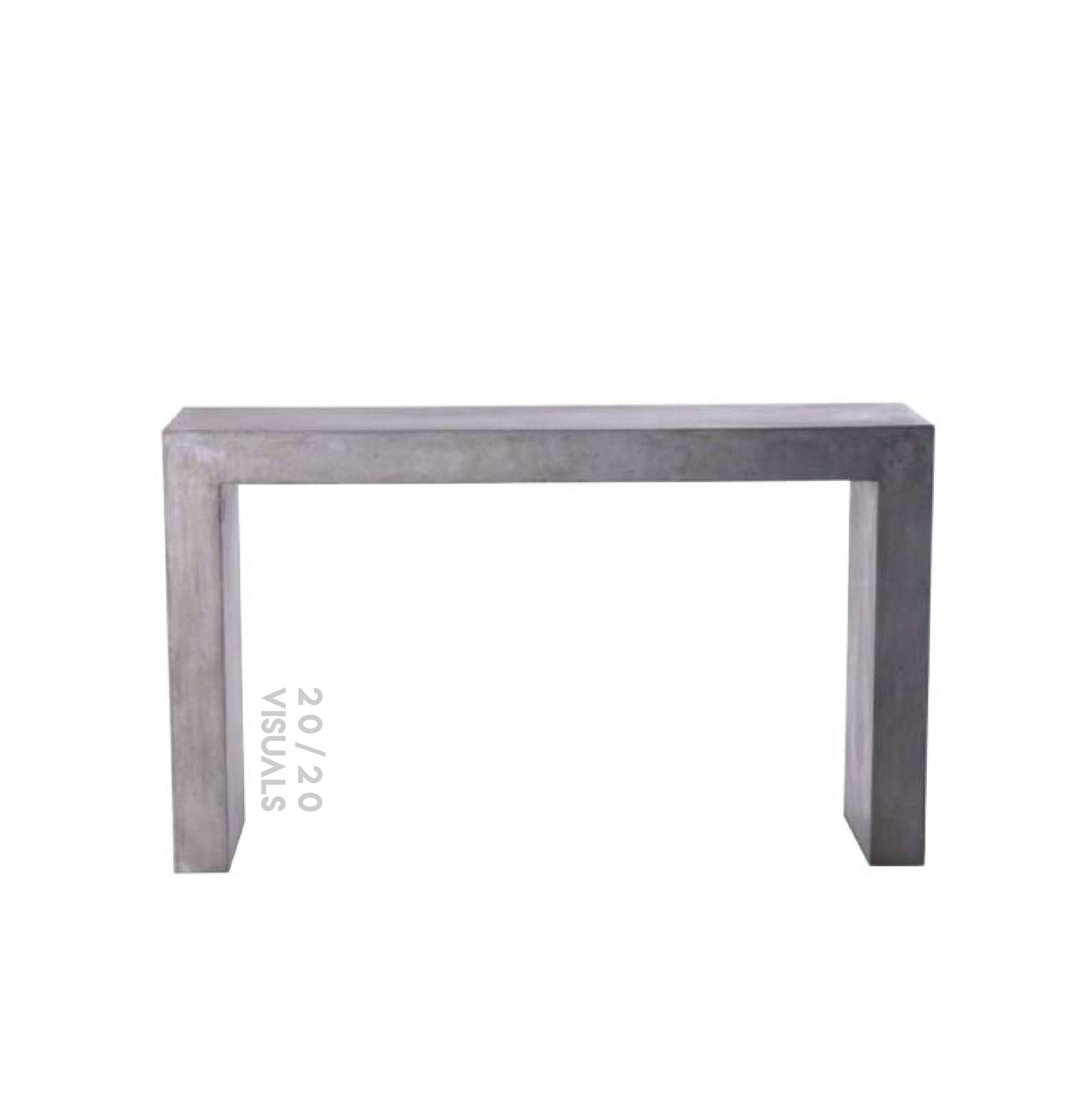 Cement Console Table