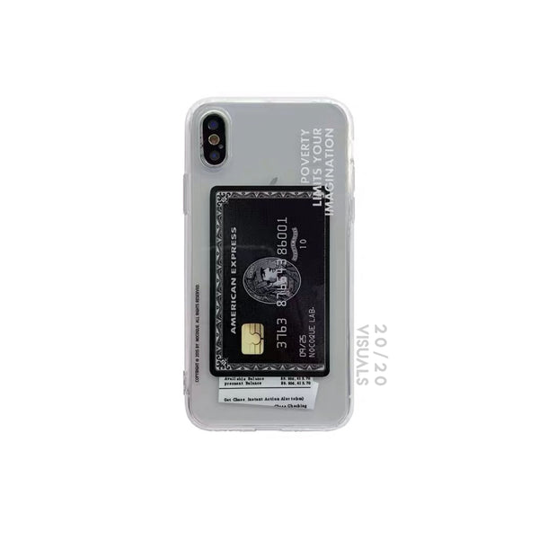 Credit Card iPhone Case
