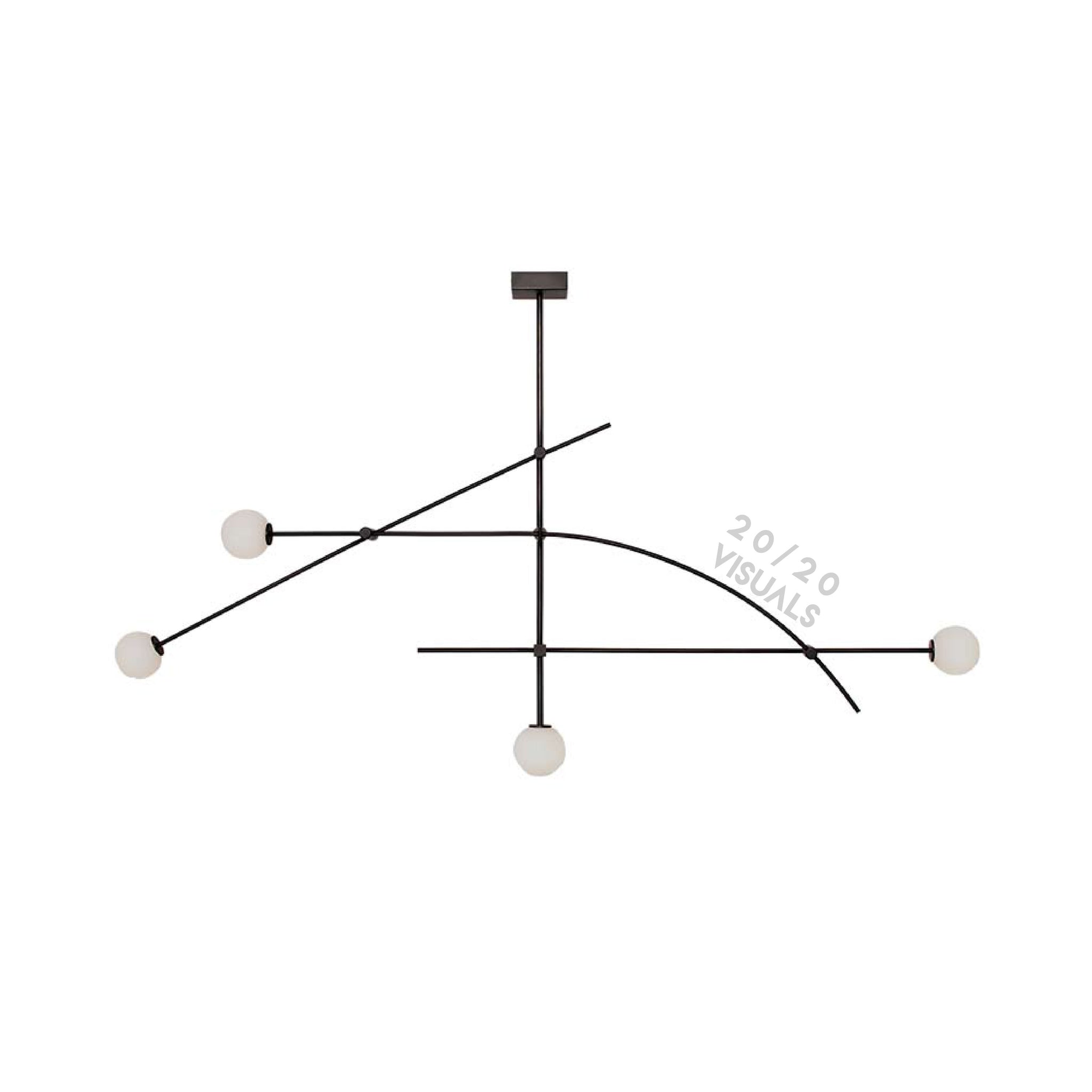 Crosshairs Ceiling Light