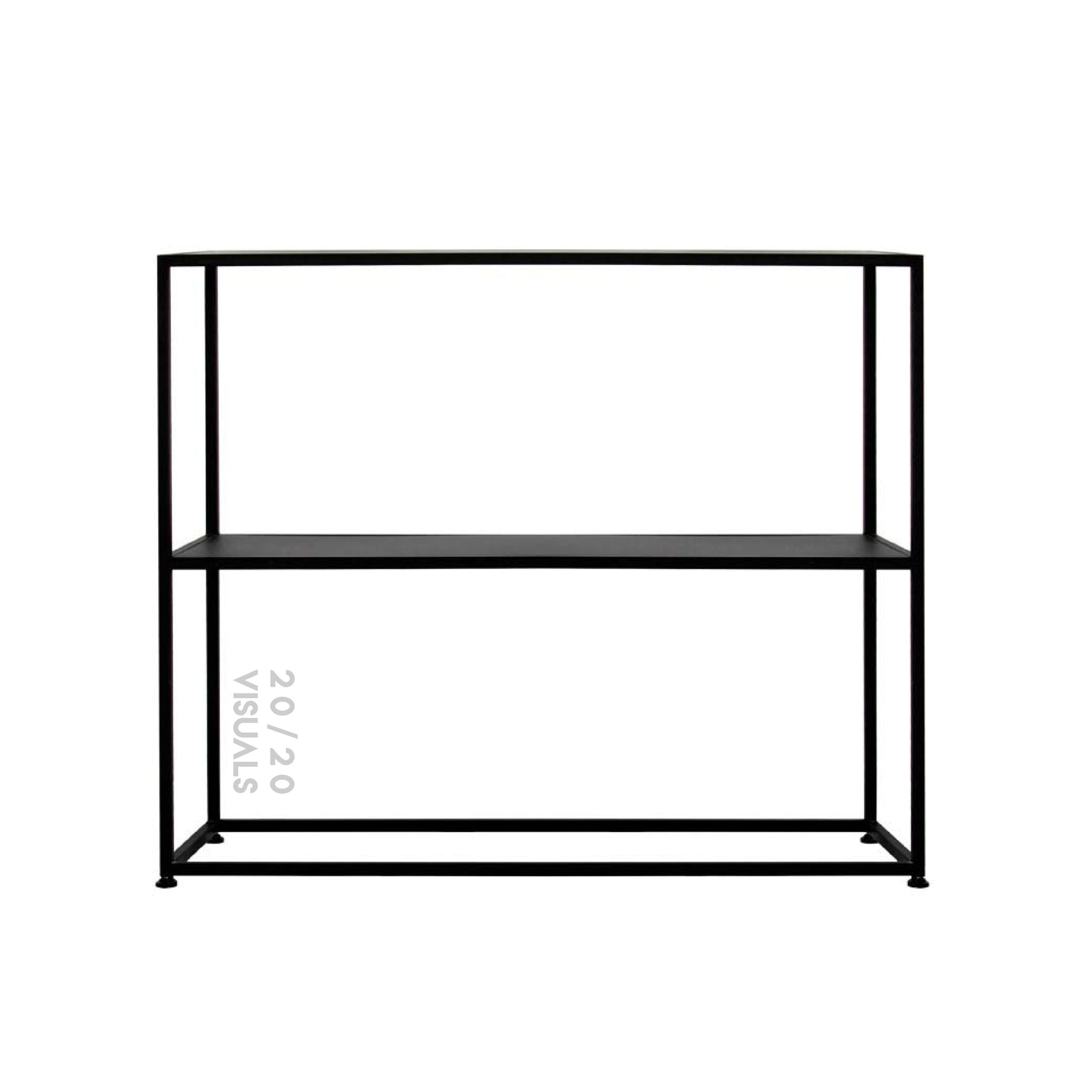 Double Shelf Console Table