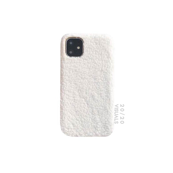 Faux Shearling iPhone Case