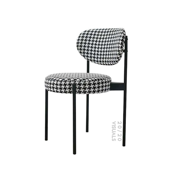 Houndstooth Dining Chair