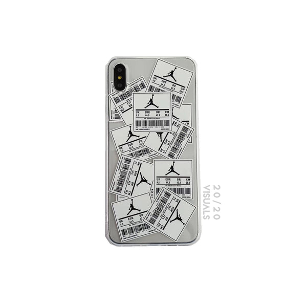 Jordan Size Tag iPhone Case