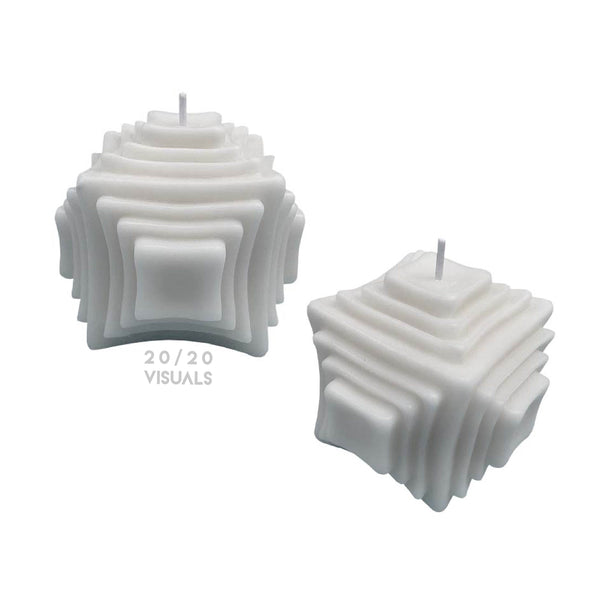 Layered Candle (Set of 2)