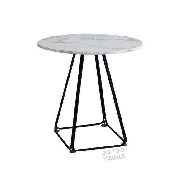 Marble-top Cafe Table