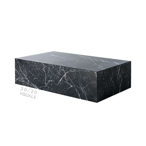 Marble Block Table