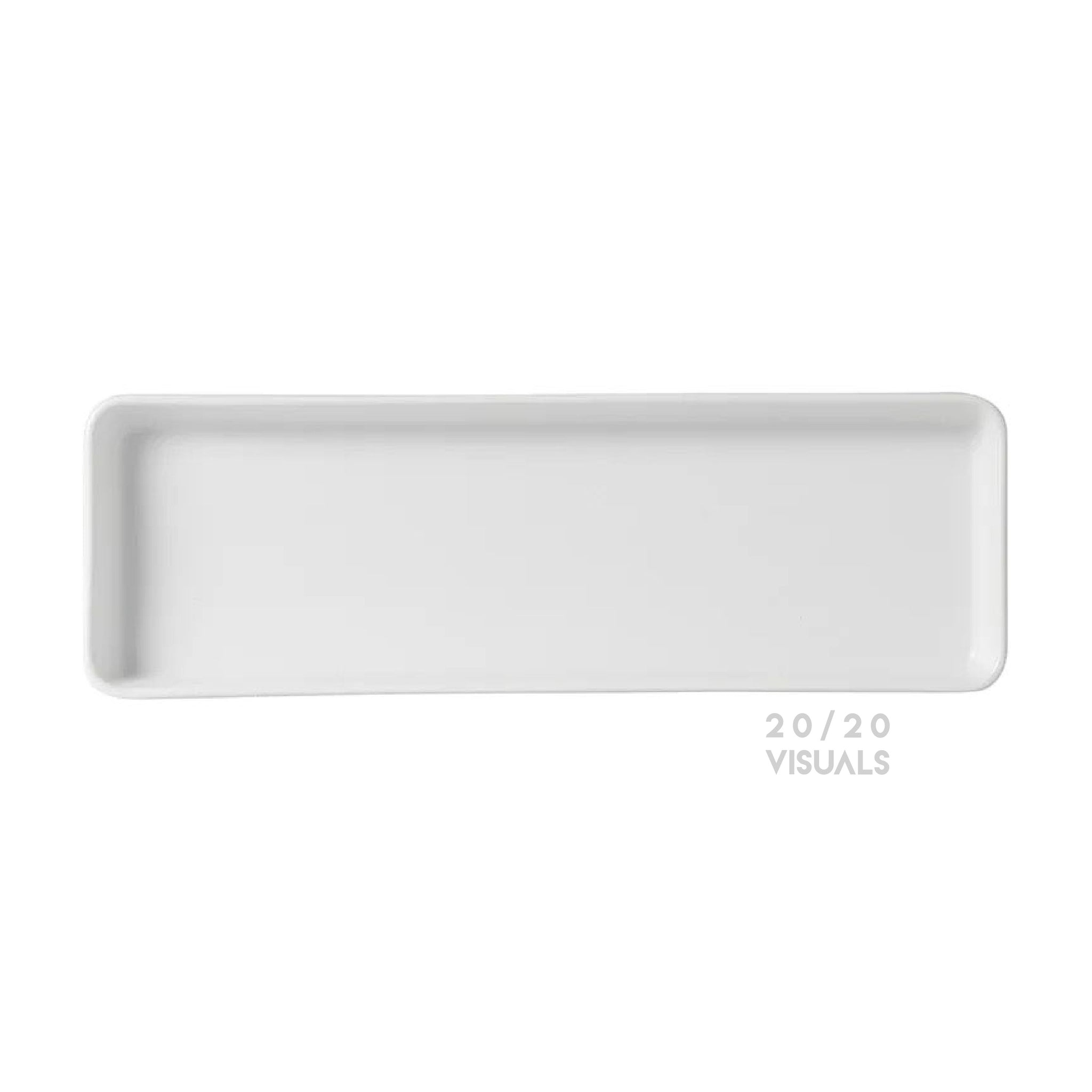 Matte Rectangle Plate