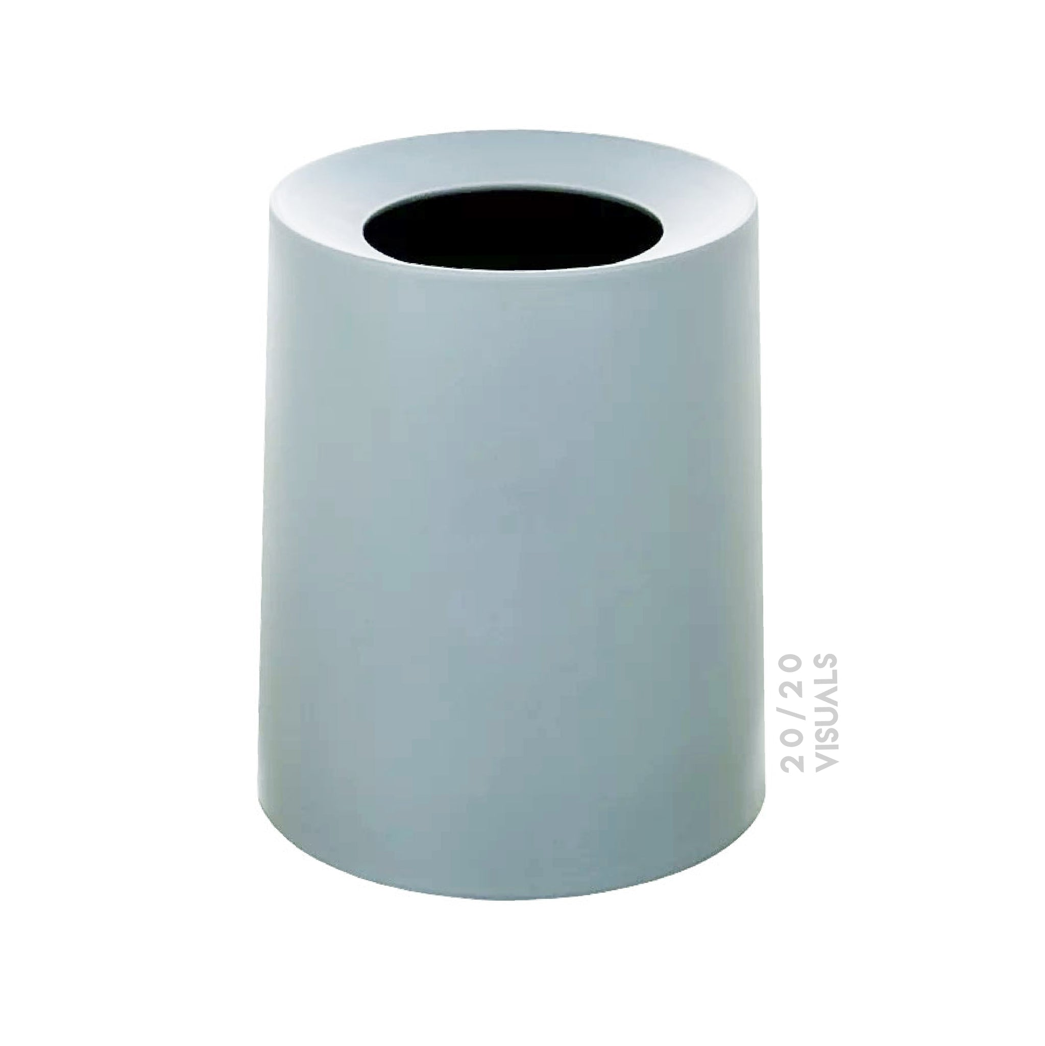 2-Layer Matte Rubbish Bin
